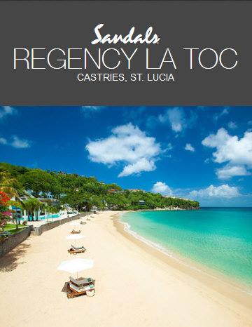 Sandals Regency La Toc