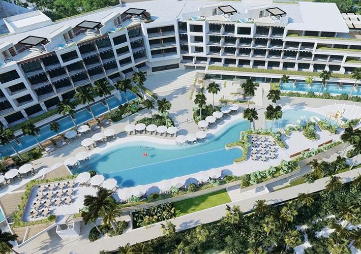 hotel-estudio-playa-mujeres-Pool-view