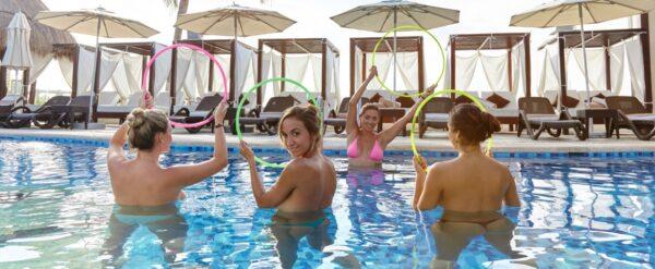 Desire+Resort+Girls+in+Pool